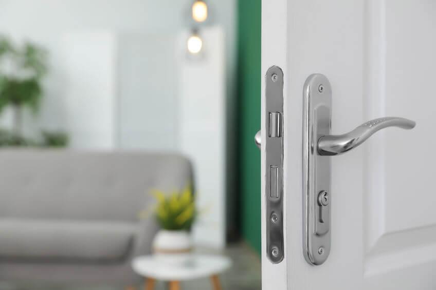 Property with Open Door